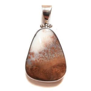 Dendritic Agate in Sterling Silver #422SK