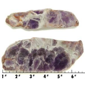 Slab125 - Chevron Amethyst Slabs