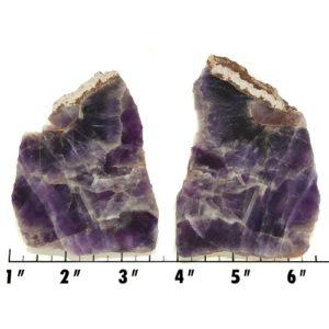 Slab1253 - Chevron Amethyst Slabs