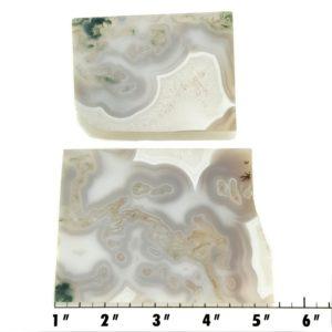 Slab1901 - Green Moss Agate slabs