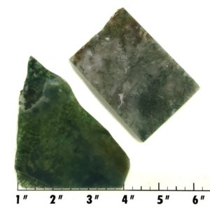 Slab1844 - Green Moss Agate slabs