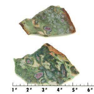 Slab121 - Ruby in Fuchsite Slabs